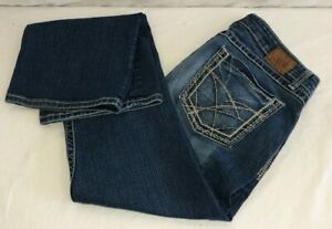 Buckle-BKE-Womens-Kate-Jeans-Bootcut-Stretchy-Medium-Blue-Tag-Size-32x31-5