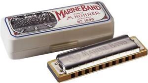 2019 DernièRe Conception Hohner Marine Band Harmonica En A.hautement Popular Blues Harpe. De Hobgoblin