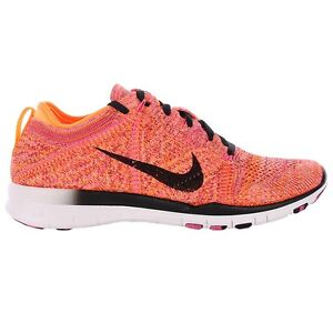 Nike WOMEN'S FREE 5.0 TR FlyknitUK 4 EUR 37.5 NUOVO 718785 800