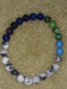 Healing-Balance-Prayer-Beaded-natural-gemstone-Bracelet-with-hollow-flower-bead