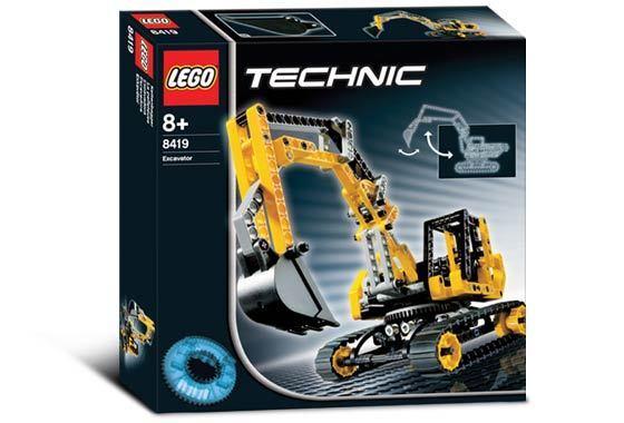 Lego Technic 8419 Bagger Neu Ovp
