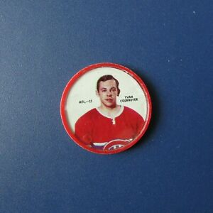 YVAN-COURNOYER-1968-69-Shirriff-coin-MTL-13-Montreal-Canadiens-1969-68-69