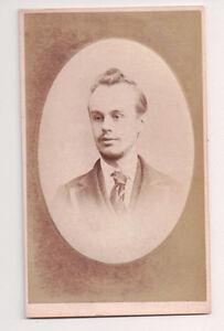 Vintage-CDV-Young-Victorian-Man-P-C-Dixon-amp-Co-Photo-London-F1