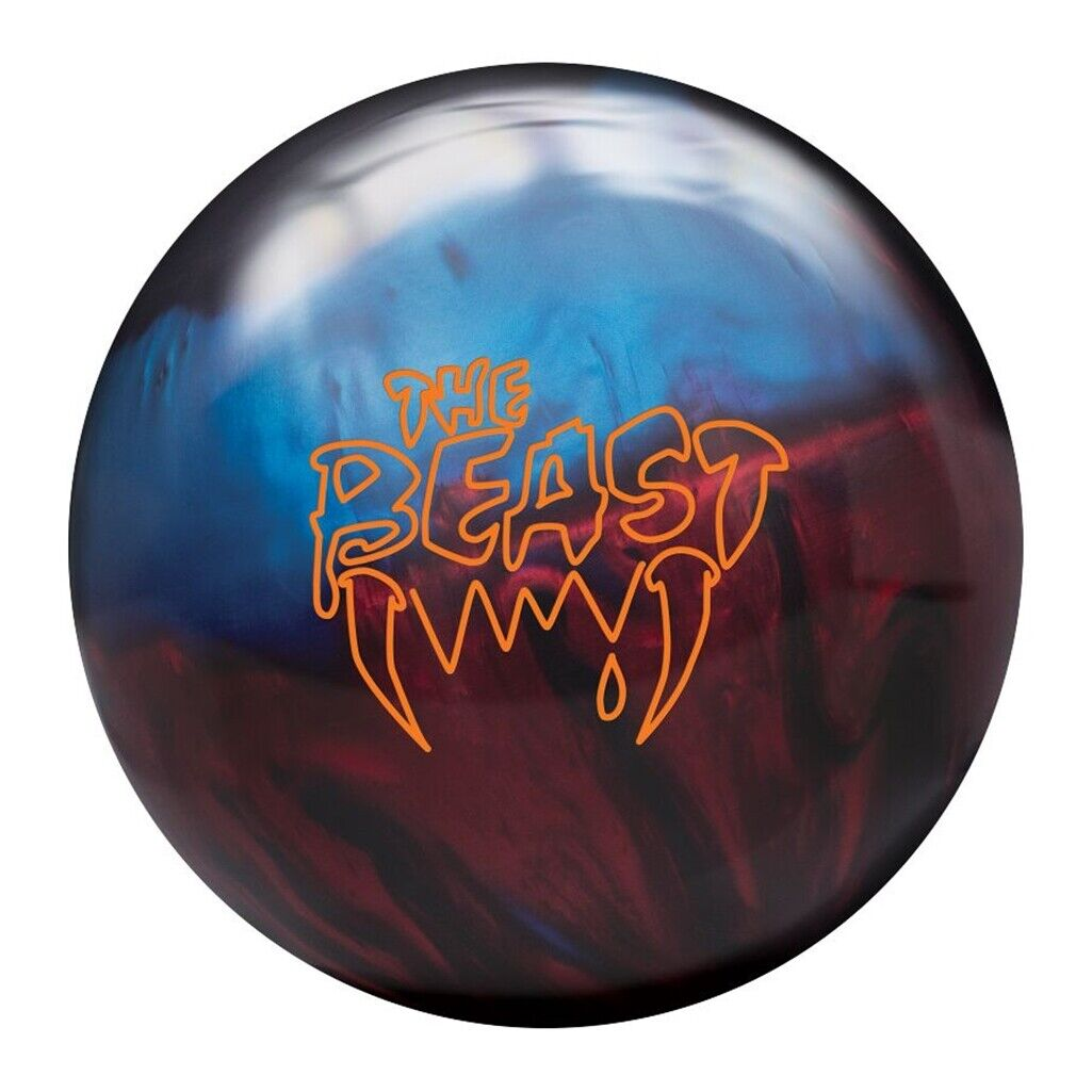 Image 1 - Columbia 300 Beast Blue/Red/Black Bowling Ball