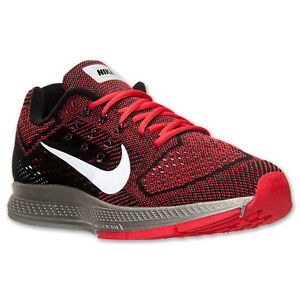 e9d0c145bdb59 Details about Men's Nike Zoom Structure 18 Flash Running Shoes, 683934 600  Size 9 Red/Silve