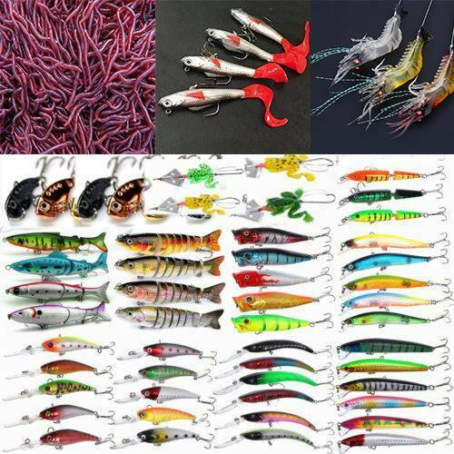10Pcs//lot minnow quality professional Artificial Fake Bait Fly Fishing silicone+