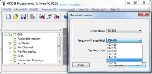 HYTERA  HT-508E v5.06 Program Software for TC-508