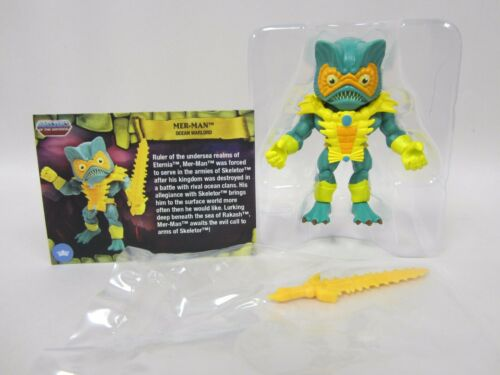 MASTERS OF THE UNIVERSE MOTU LOYAL SUBJECTS VINYL WAVE 2 MER-MAN 1 OUT OF 6 NEW