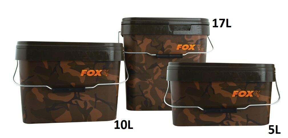 Fox Camuflaje Plaza Cubos   17L     Accesorios   Pesca   CBT007  al precio mas bajo