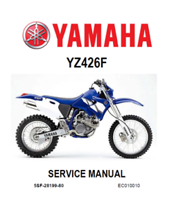 download now yamaha yz426f yz426 2000 2001 2002 service repair workshop manual