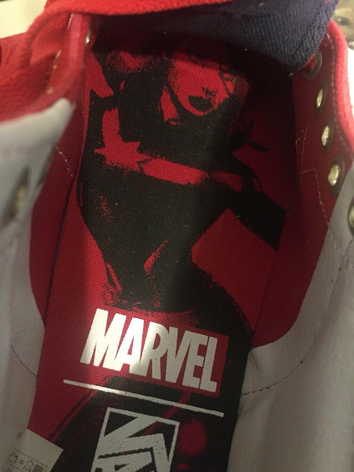 Vans Vans Vans x Marvel Captain Marvel SK8-Hi  Size 5.5 Womens Limited Edition 2018 62eecd