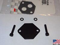 86-04 Mustang Gt/cobra (black) Billet Aluminum Iac Idle Air Control Delete Kit