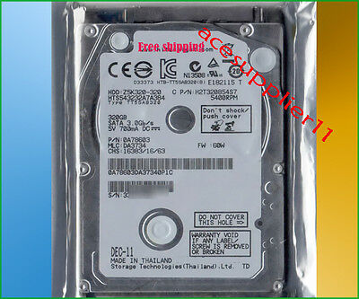 "2.5"" SATA 320GB (HTS543232A7A384)Hard Drive for Dell HP Lenovo ASUS Acer Laptop"