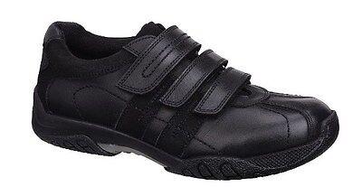 Zapatos de Cuero Hush Puppies seb Chicos Negro Escuela - 100% de comentarios positivos