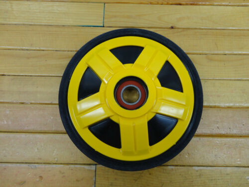 SKI DOO YELLOW PPD OEM 141MM IDLER WHEEL OEM503191312 FITS MOST REV AND XP 08-12