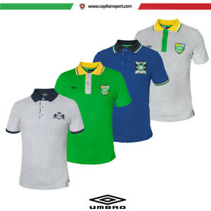Umbro-POLO-MONDIALI-COTONE-PIQUET-POLO-CASUAL-art-ONE-P