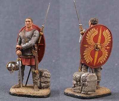 Tin toy soldiers ELITE painted 54 mm Roman Cavalry Vessillifer 3rd century AD