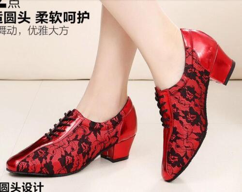 New Women Girl Ladies Ballroom Latin Tango Party Dance Shoes Wear high heels