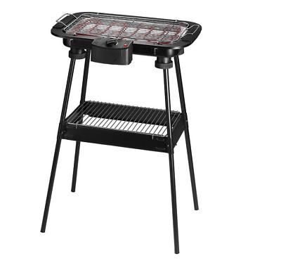 Barbecue Elettrico BBQ Supporto Griglia Elettrica Bistecchiera 2000W melchioni