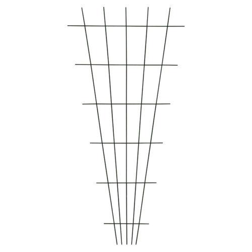 10 Stück Gitterspalier Gitter Spalier Rankhilfe Rank Hilfe V Form 150x75cm braun
