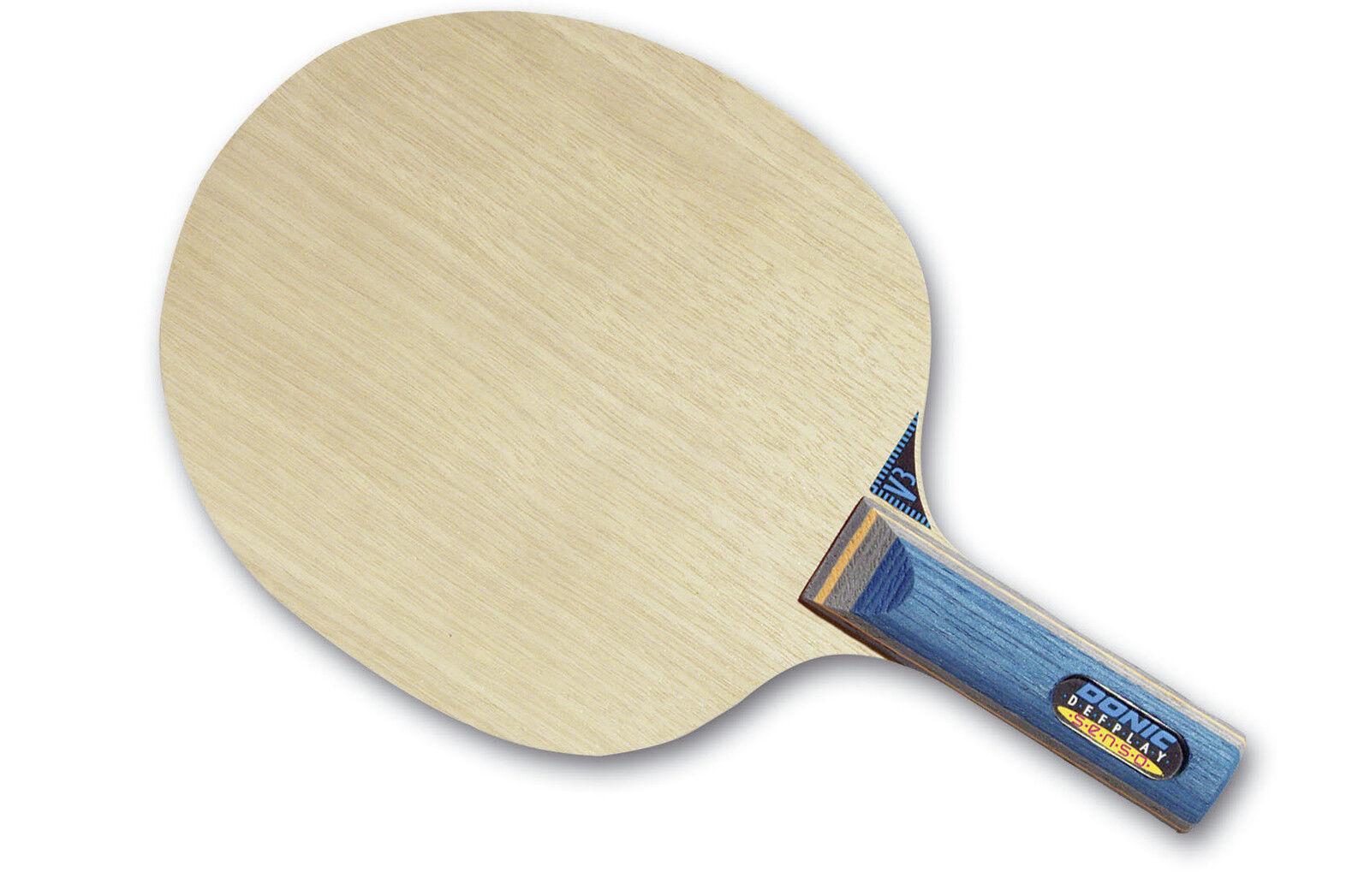 Donic Defplay Senso Tennis de Table-Bois Raquette de Tennis de Table