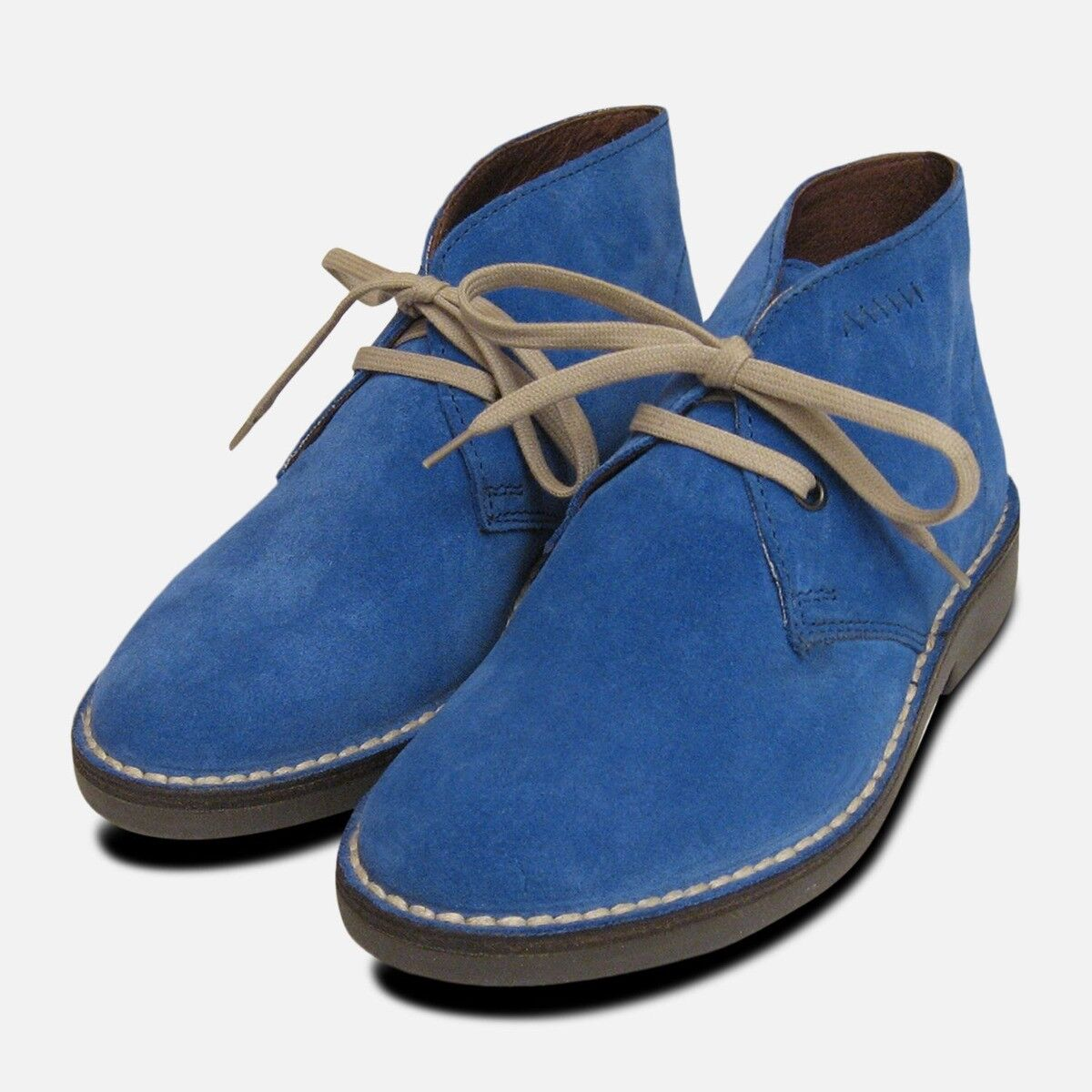 supporto al dettaglio all'ingrosso Donna Blu Pelle Scamosciata Italiana Arthur Knight Desert stivali stivali stivali  caldo