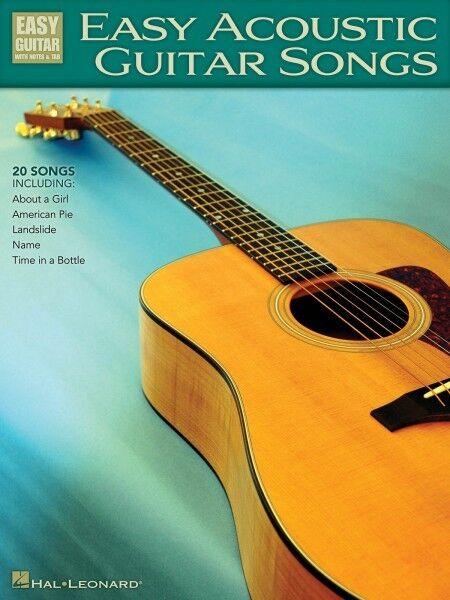 Easy Acoustic Guitar Songs Sheet Music Easy Guitar Book NEW 000702257
