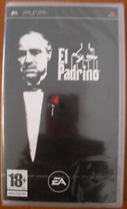 El-Padrino-UMD-PlayStation-Portable-PSP-Pal-Espana-NUEVO-Y-PRECINTADO