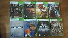 (Xbox 360GAMES) Oblivion, Bully, Sleeping dogs  etc