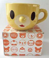 NEW Cram Cream Japan Lion Face Animal Mug Coffee Tea Cute Kawaii Cup Ceramic HTF