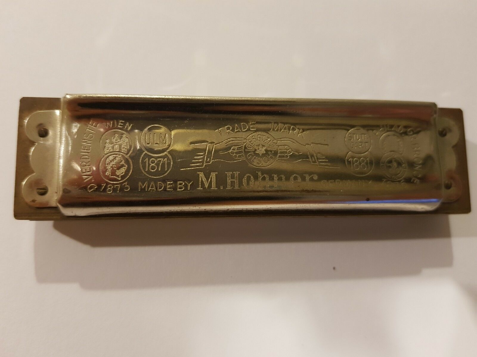 M. Hohner Vereins Harmonica Hohner Orchester 1920 - 1936 Vintage Free shipping.