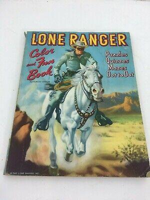 Alex Toth and Bob Bertram Tonto Coloring Book Lone Ranger | Lot ... | 400x300