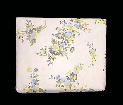 Laura Ashley Tilly Yellow Blue Floral 4 Pc Queen Flannel Sheet Set Nip Disc For Sale Online
