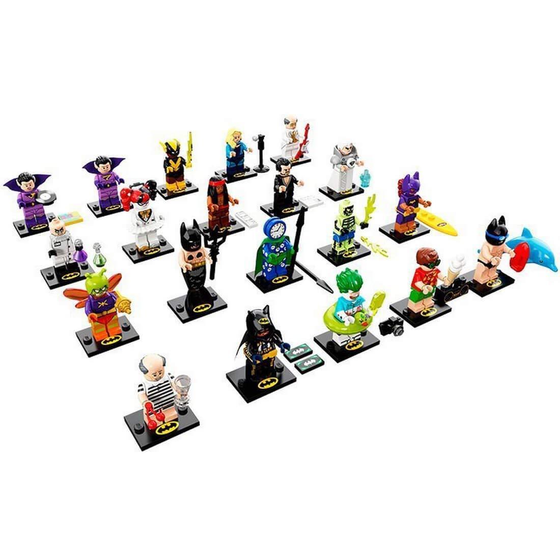 Célébrez le Nouvel Nouvel Nouvel An Noël LEGO ® 71020 Minifiguren ensemble complet BatFemme 2neu New 8cac43