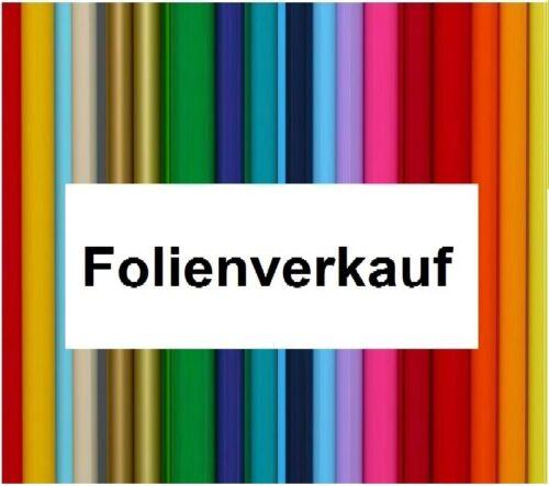Folien Verkauf 30x126cm  Folie Klebefolien für Plotter Hobby Auto Möbel