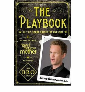 The-Playbook-Suit-Up-Score-Chicks-Be-Awesome-by-Barney-Stinson-Book-NEW-AU