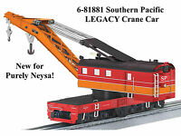 Lionel Sp Legacy Command Control Scale Crane Car O Gauge Train 6-81881 Mk