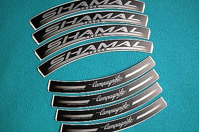 CAMPAGNOLO SHAMAL 12 HPW  REPLACEMENT RIM DECAL SET  FOR 2 RIMS