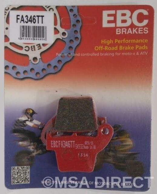 "Honda CR250 (2002 to 2007) EBC ""TT"" REAR Brake Pads (FA346TT) (1 Set)"