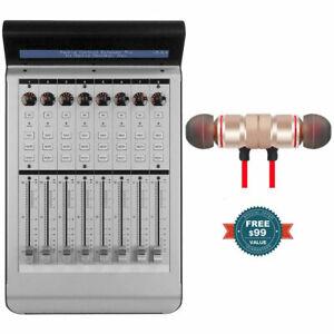Mackie-MCU-XT-Pro-Surface-de-controle-Extender-Avec-Gratuit-Sans-Fil-Ecouteurs-Neuf