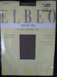 Straps Elbeo Delta 20 in versch Feinstrümpfe für Mieder Farben II 38-39 NEU!