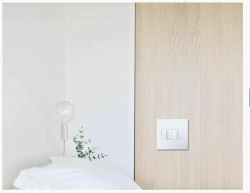 LEGRAND ADORNE TWO GANG WALL PLATE GLOSS WHITE FINISH AWP2GWHW10