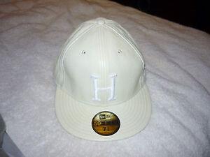 MENS BASEBALL HAT CAP WHITE SNAKE CROC HUF H LOGO NE NEW ERA 7 3 8 ... 5199ae18c8bd9