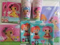 Lalaloopsy - Birthday Party Supply Kit Set 16 W/ Invitations