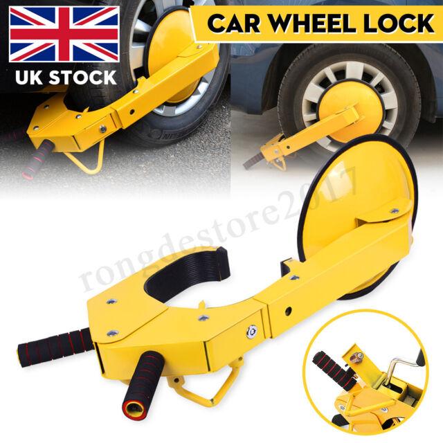 New Car Claw Caravan Boat Trailer Wheel Clamp High Security Anti Theft Lock