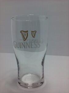 Guinness Brewery Ireland Harp 16 Oz Beer Pint Drink Glass Barware Ale Irish