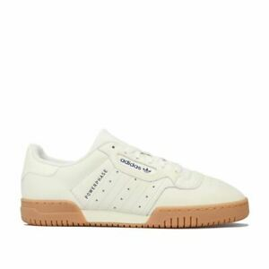 Femmes-Adidas-Originals-powerphase-Lacets-Matelasse-Baskets-en-Blanc