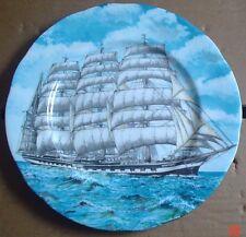 M G Fine Bone China Norwich England KRUSENSTERN (EX PADUA) Sailing Boat