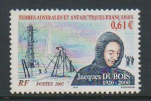 French-Antarctic-2002-61c-Jacques-Dubois-stamp-MNH-SG-487