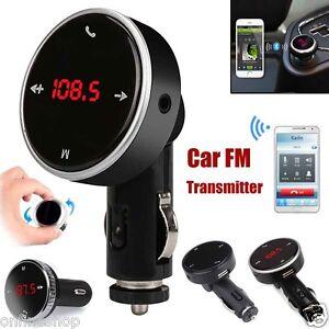 Wireless-Bluetooth-LCD-MP3-Player-Car-Kit-SD-MMC-USB-FM-Transmitter-Modulator